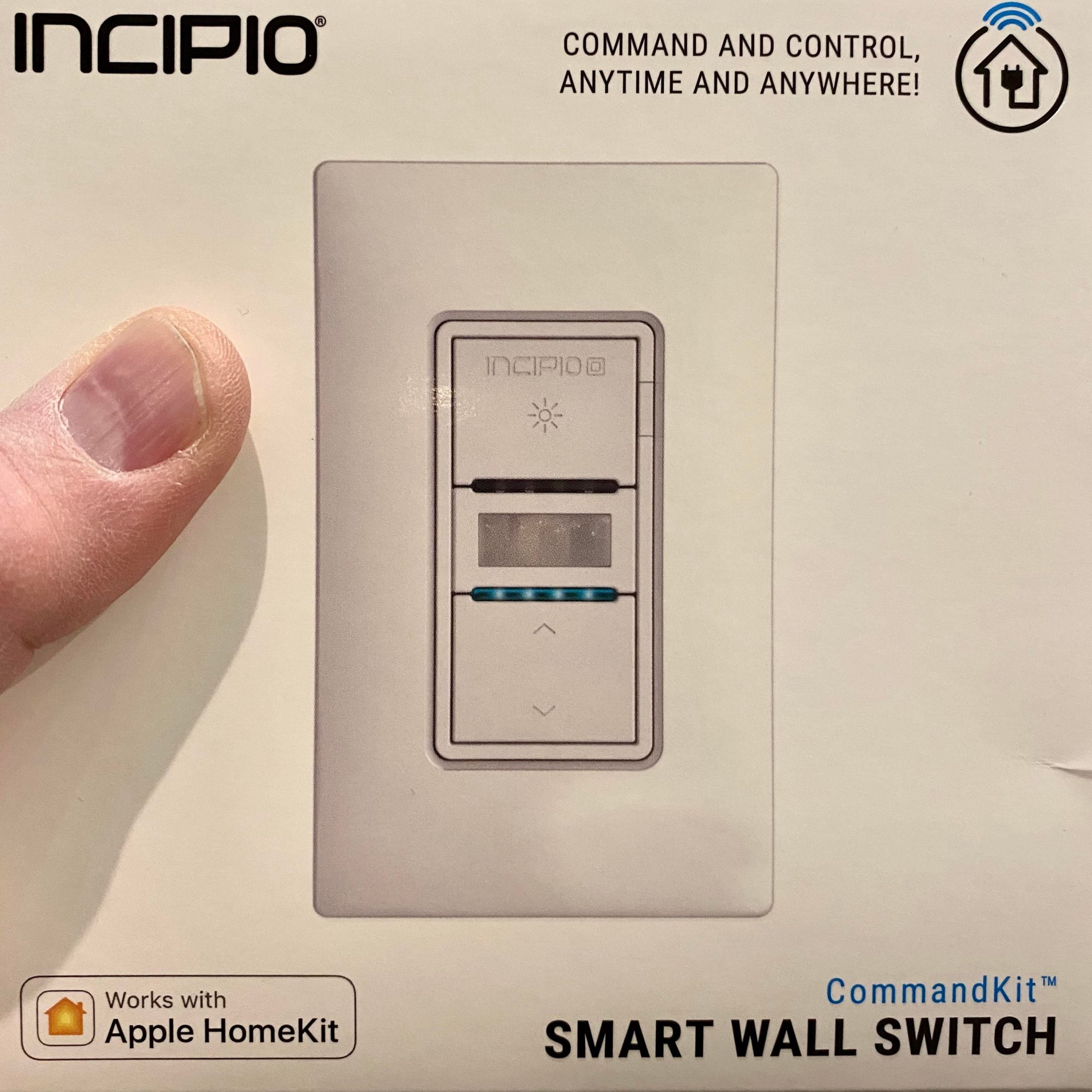 $ 14.43 for a switch with built-in motion / occupancy detector and dimmer. Too nice to be true? Stay tuned...