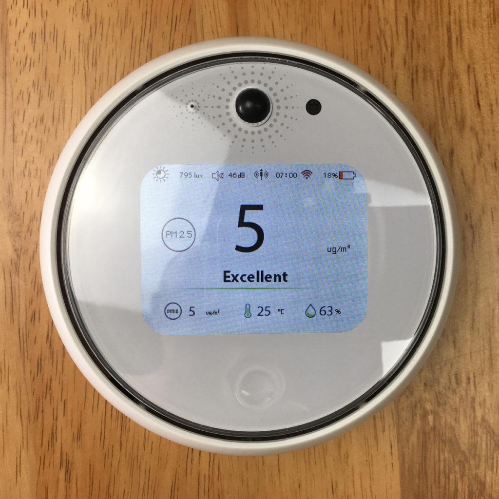Koogeek A1W Air Environment Monitor HomeKit Blog Review