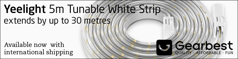 Yeelight presents the 5 meters Tunable White Light Strip