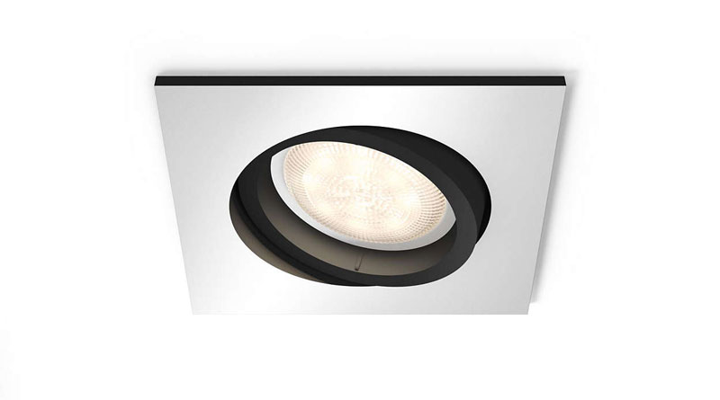 New spotlights for the Hue Fugato ceiling
