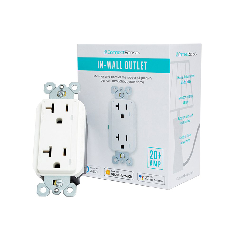 ConnectSense Smart in-Wall Outlet is Now Available