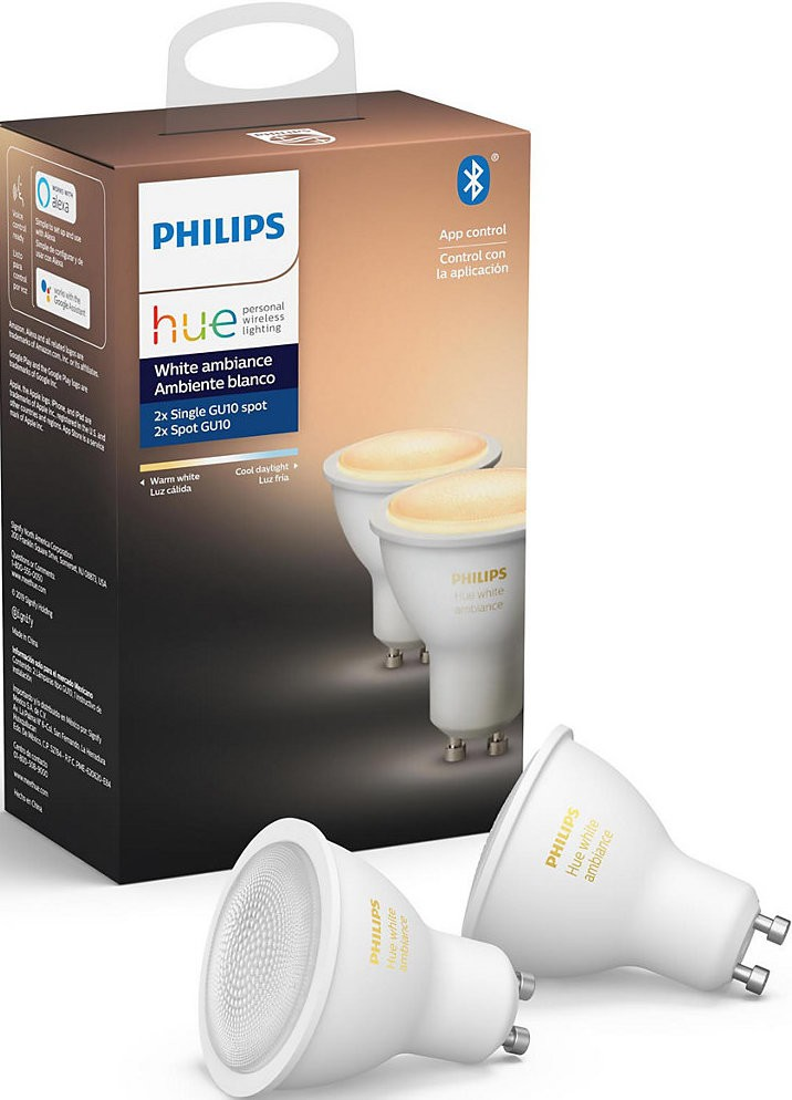The Philips Hue CES 2020 exterior line and the recessed spotlight are now available