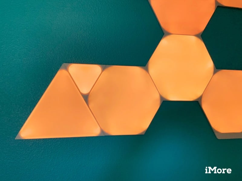 Nanoleaf Shapes Triangles Review Connections