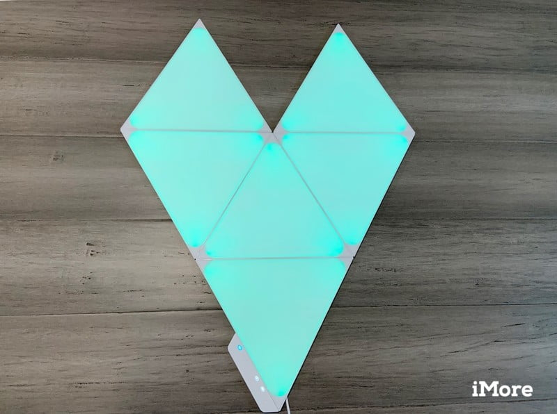 Nanoleaf Shapes Triangles Review