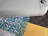 What alternative materials can you use with a Cricut machine?