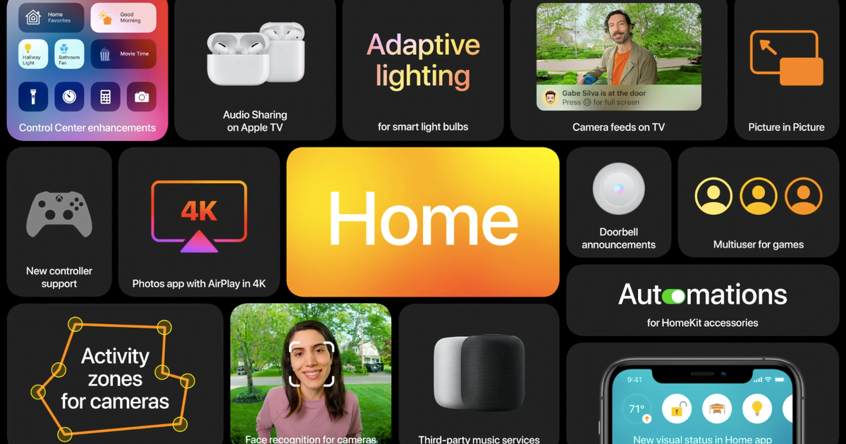 Apple will link HomeKit to HomePod and Apple TV with iOS 14 this fall