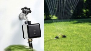 The Eve Aqua Smart Water Controller update brings Thread to the outdoors