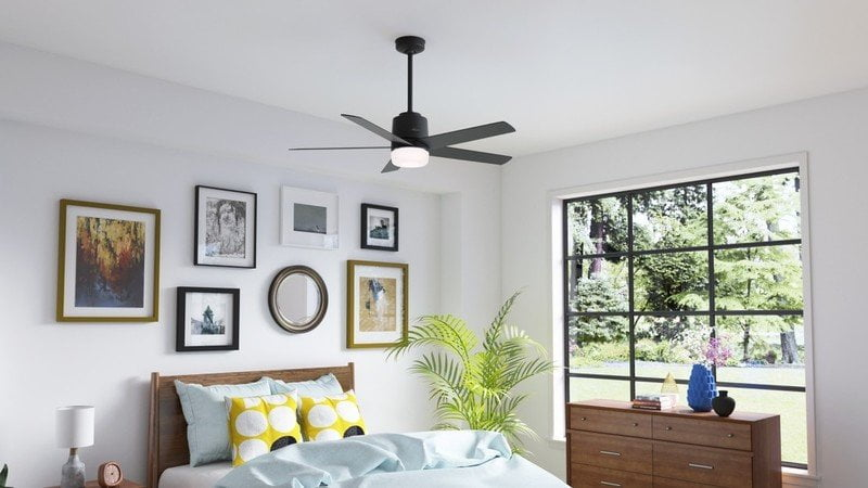 Hunter's new Aerodyne ceiling fan works with HomeKit and Siri
