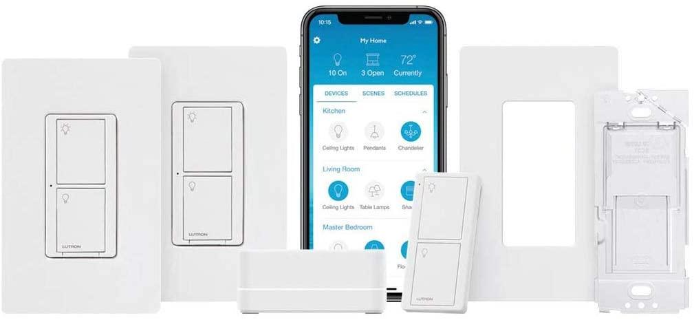 Kit Lutron Caseta Deluxe Smart Switch