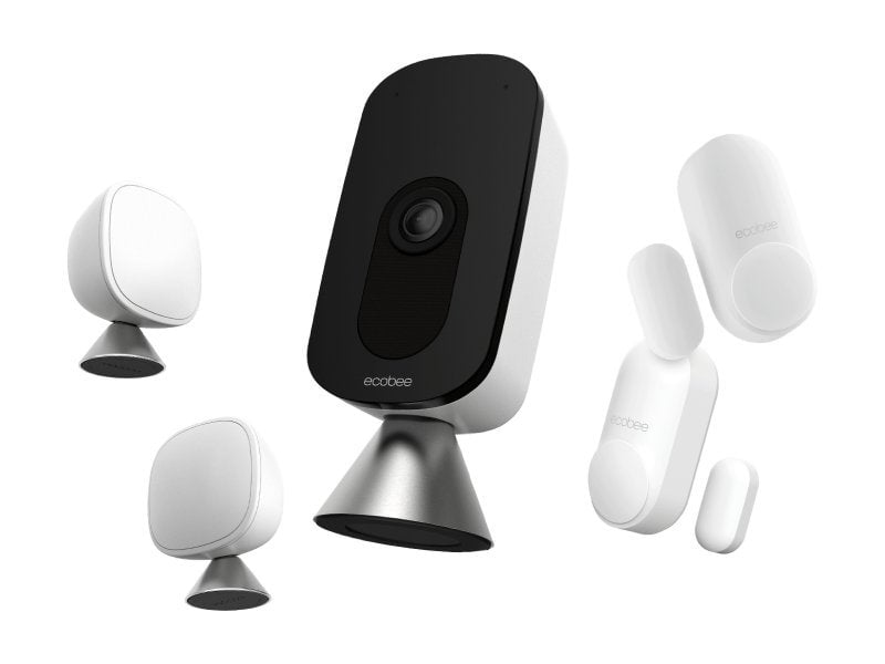 $ 50 discount on the ecobee home security package (HomeKit room)