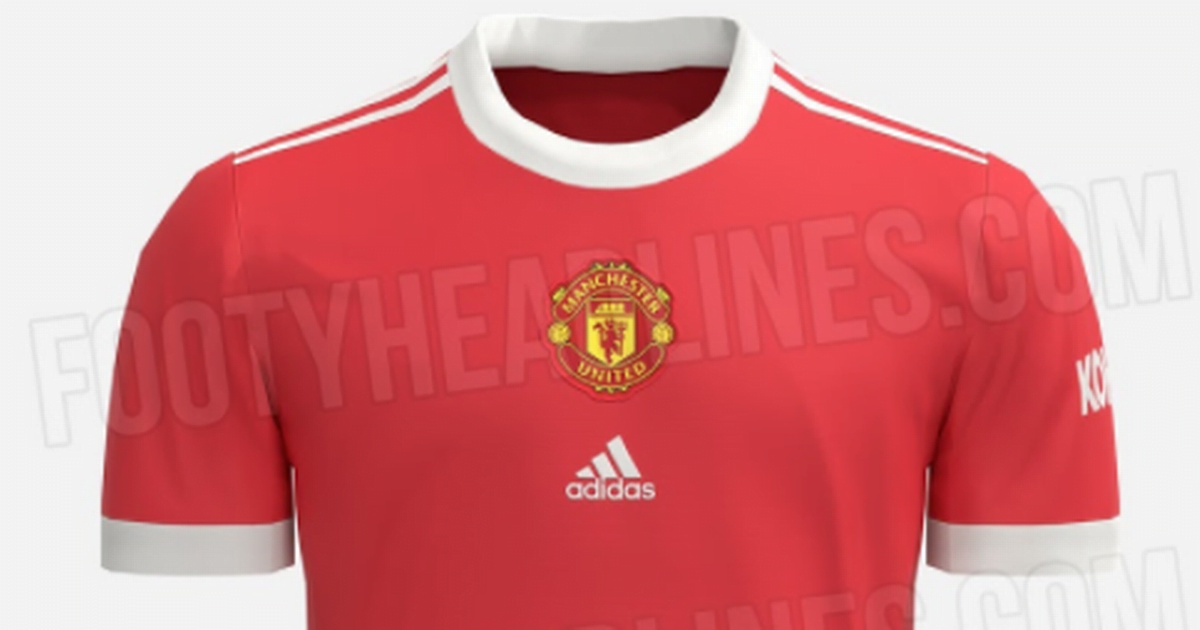 """Adidas Manchester United 2021/22 home kit """"leaked"""""""