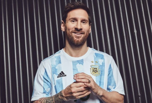 Adidas launches new home kit in Argentina for 2021
