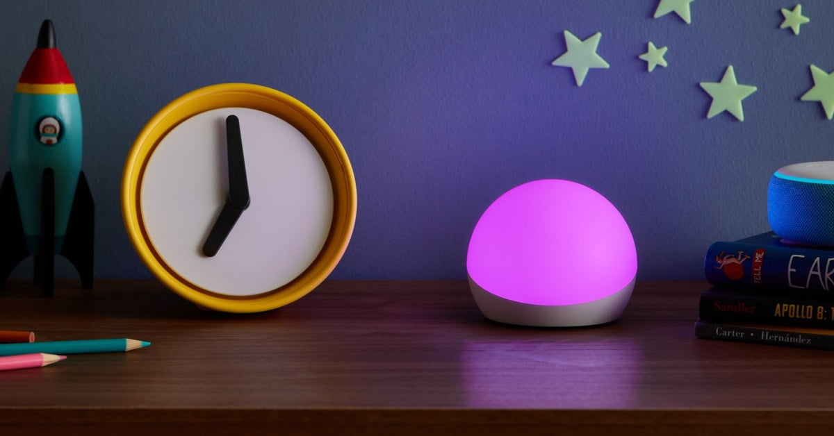 Amazon's Echo Glow smart color lamp sees a rare discount to the new $ 20 minimum (save 33%)
