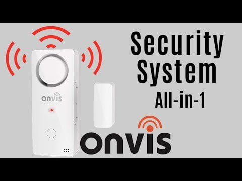 An All-in-One HomeKit Security System? Onvis CS1 security system contact sensor