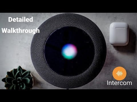 An in-depth look at Apple's intercom with HomePod and iPhone