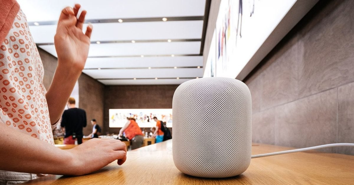 Apple interrupts Homepod