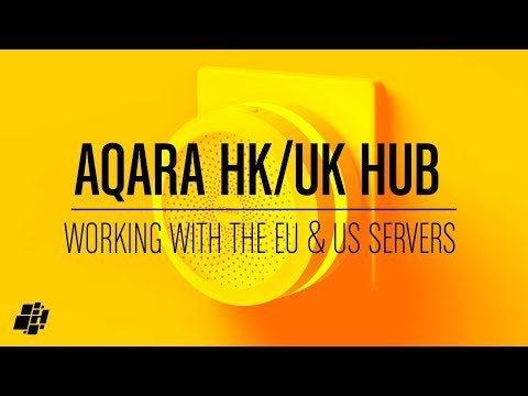 Aqara Hub Hong Kong / Macau Edition (works with EU / US servers)