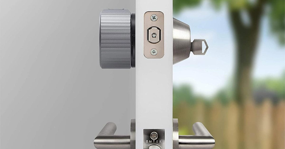 Ask Siri to unlock the front door with the latest August Smart Wi-Fi Lock for $ 196 (save 22%)