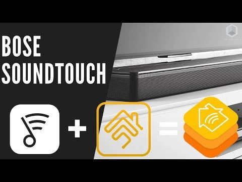 Bose Soundtouch 300 Series Full control in the Apple HomeKit