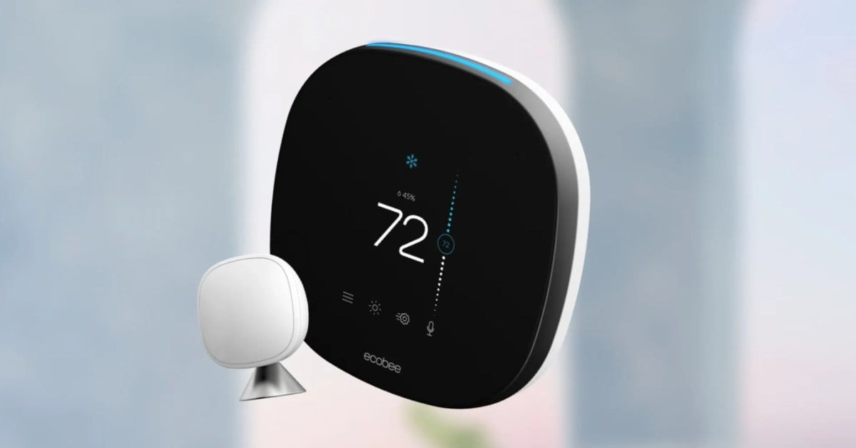 Bring your ecobee SmartThermostat to your Siri before winter setup for $ 199 (save $ 50)