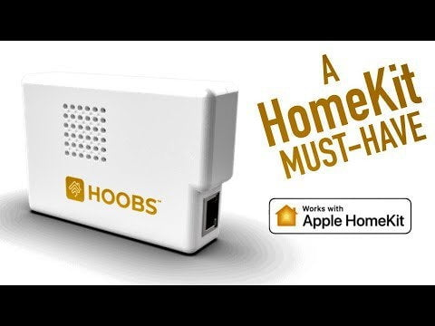 """Build your ultimate """"HomeKit"""" smart home with PRODUCTS YOU ALREADY HAVE with HOOBS"""
