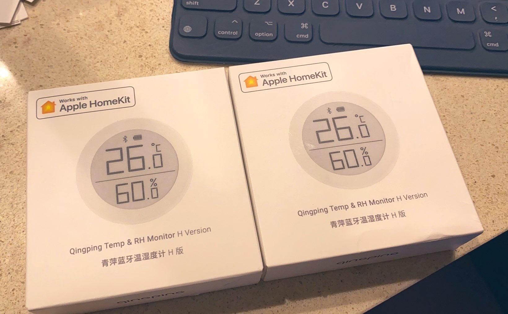 ClearGrass Bluetooth Temperature Humidity Sensors with HomeKit is Finally
