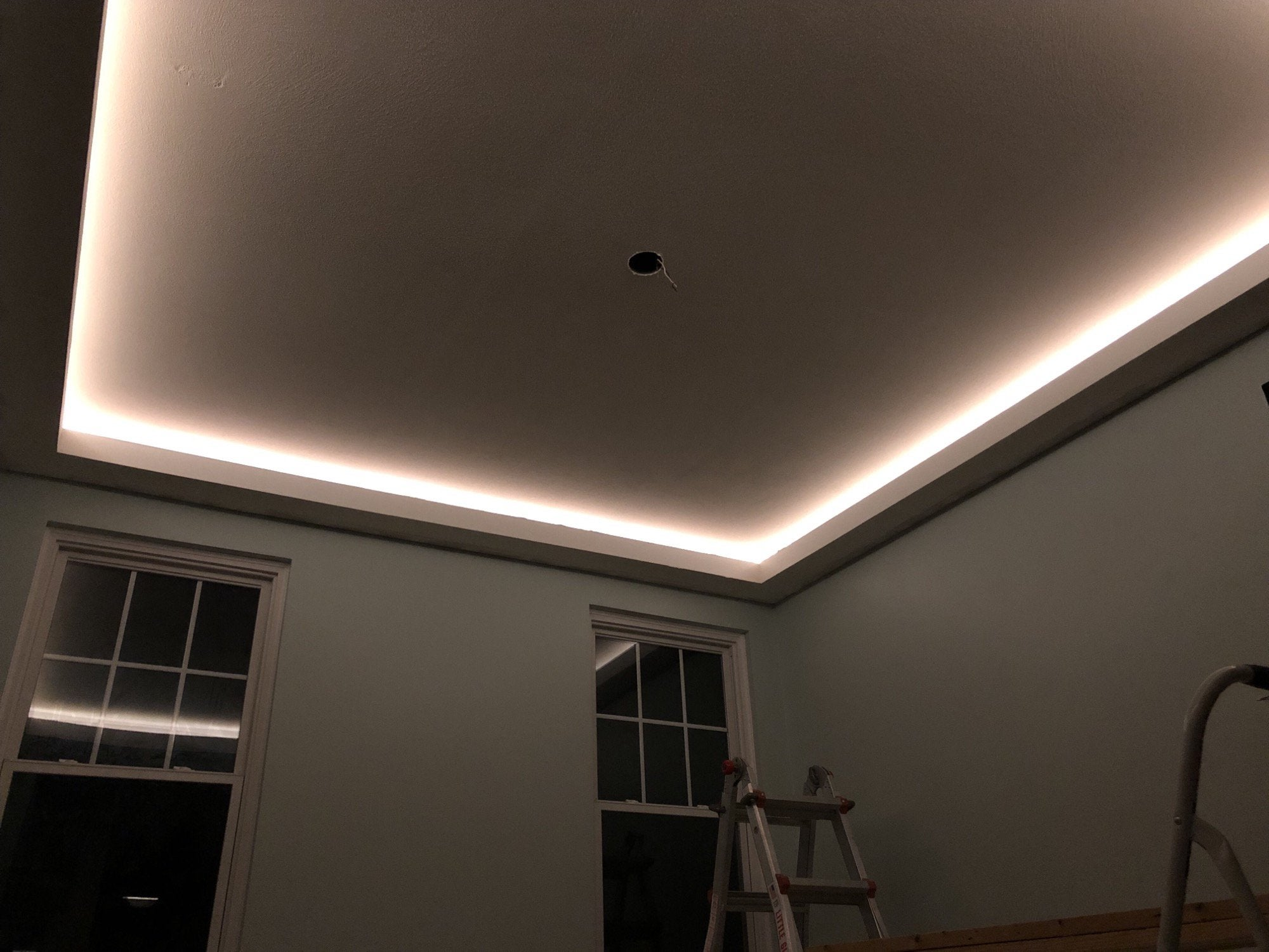 Cove ceilings
