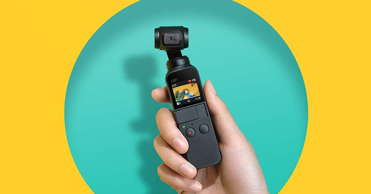 DJI Osmo cams up to 90 USD discount: Pocket 4K 209 USD or Action 4K package 199 USD delivered