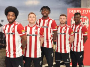 Derry City to wear new Adidas home kit tonight