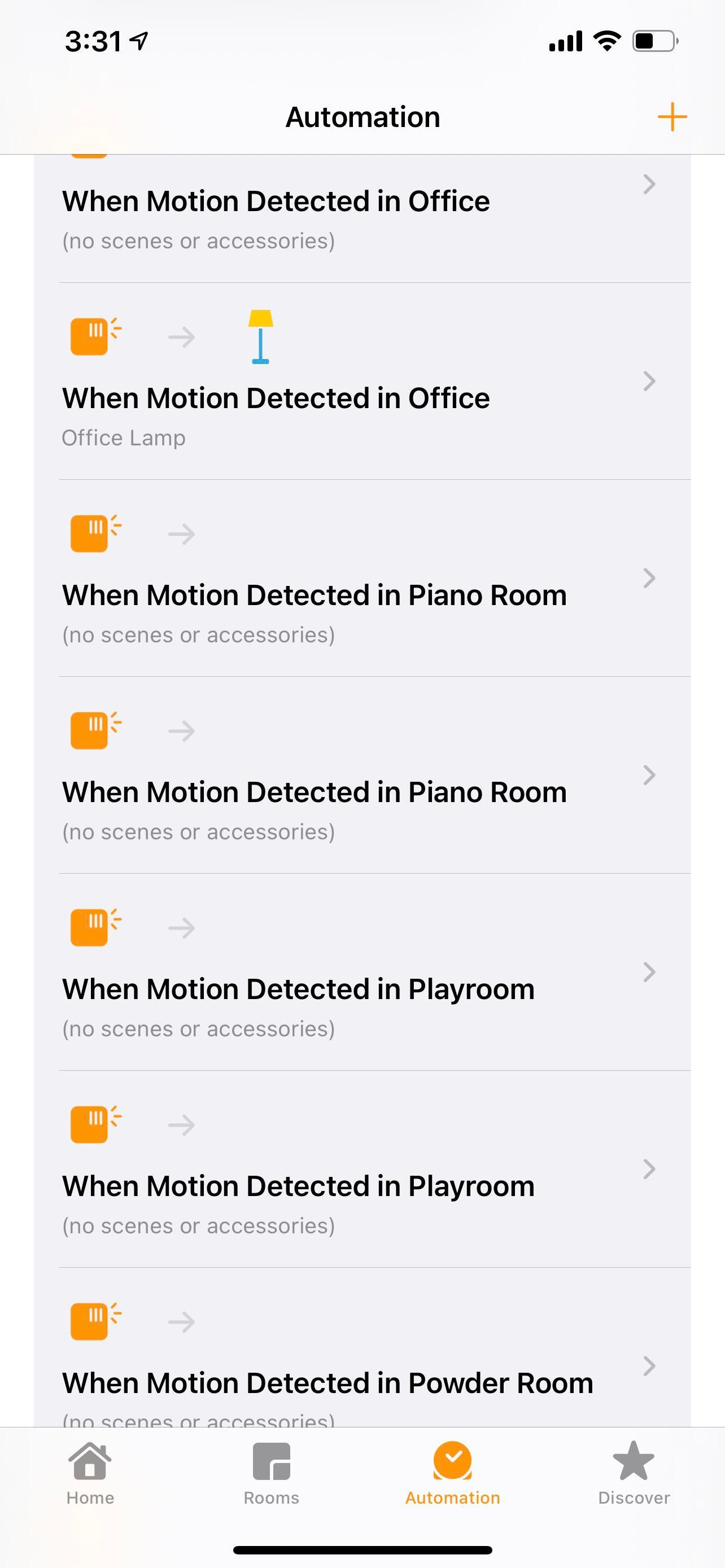 Disconnect iCloud Glitch automations
