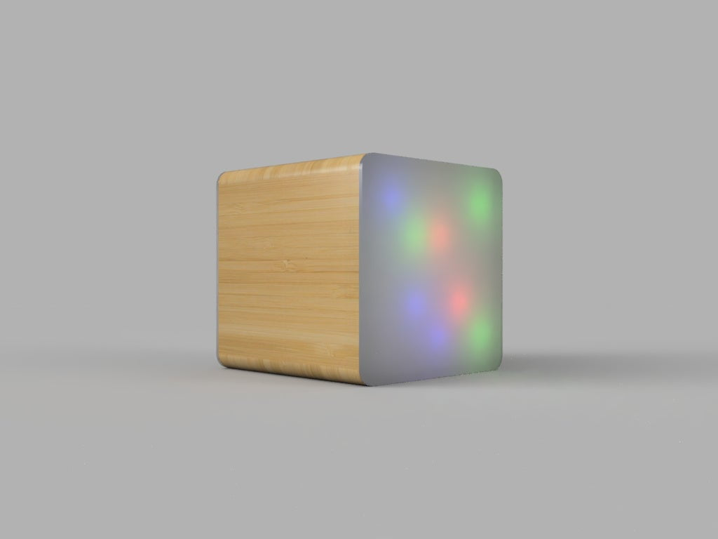 Discussion: Thinking of building a small device to sit in a room with several individually controllable lights (think of the top of the HomePod) to show the status and use them in automation. Ideas? Comments?