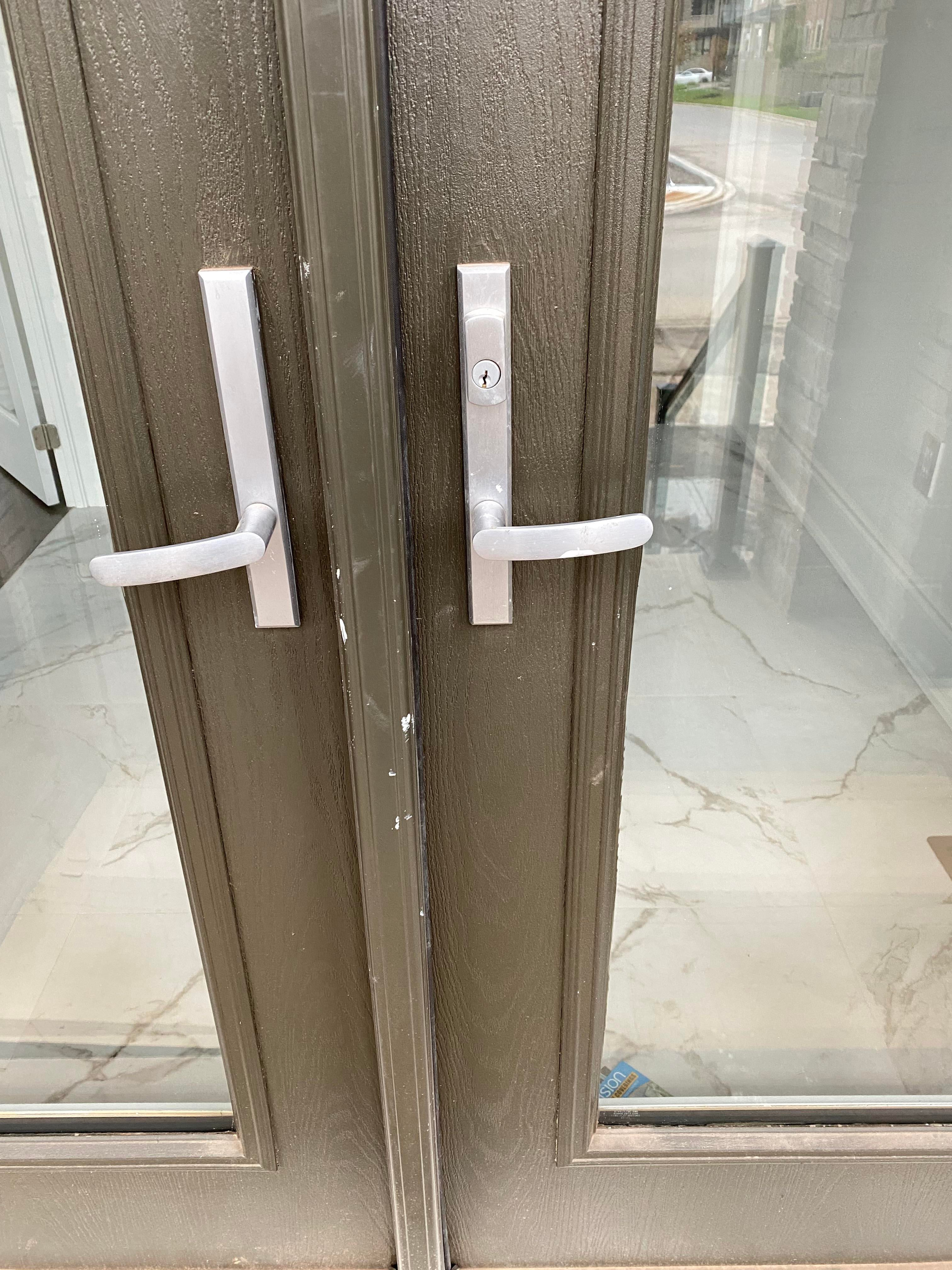 Do you have lock options enabled for homekit for this
