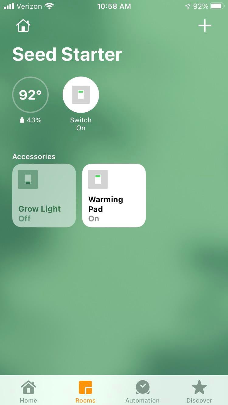 Does anyone else build smart gardens?  I thought over a dozen sonoffs to work with HomeKit.