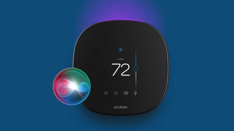 Ecobee SmartThermostat with voice control to become the first thermostat with Apple Siri