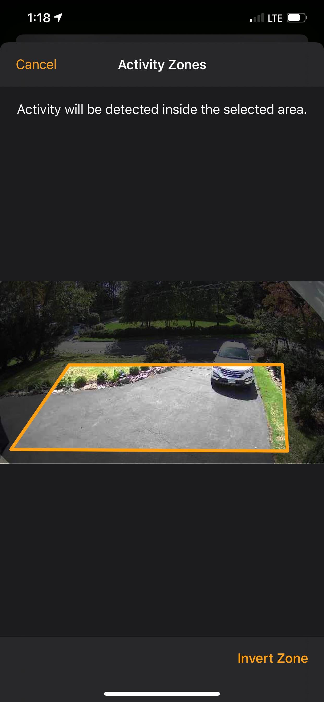 Eufycam 2C continues to detect machines even outside the homekit
