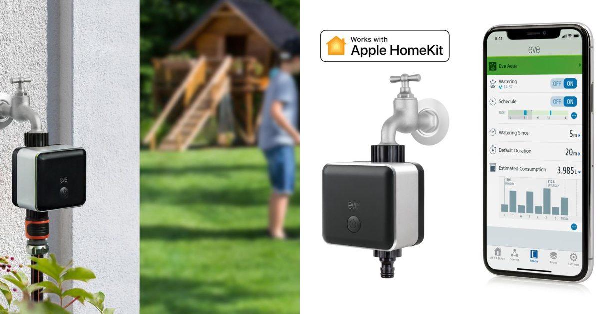 Eve turns on the Thread radio in the Aqua sprinkler controller for the Apple HomeKit