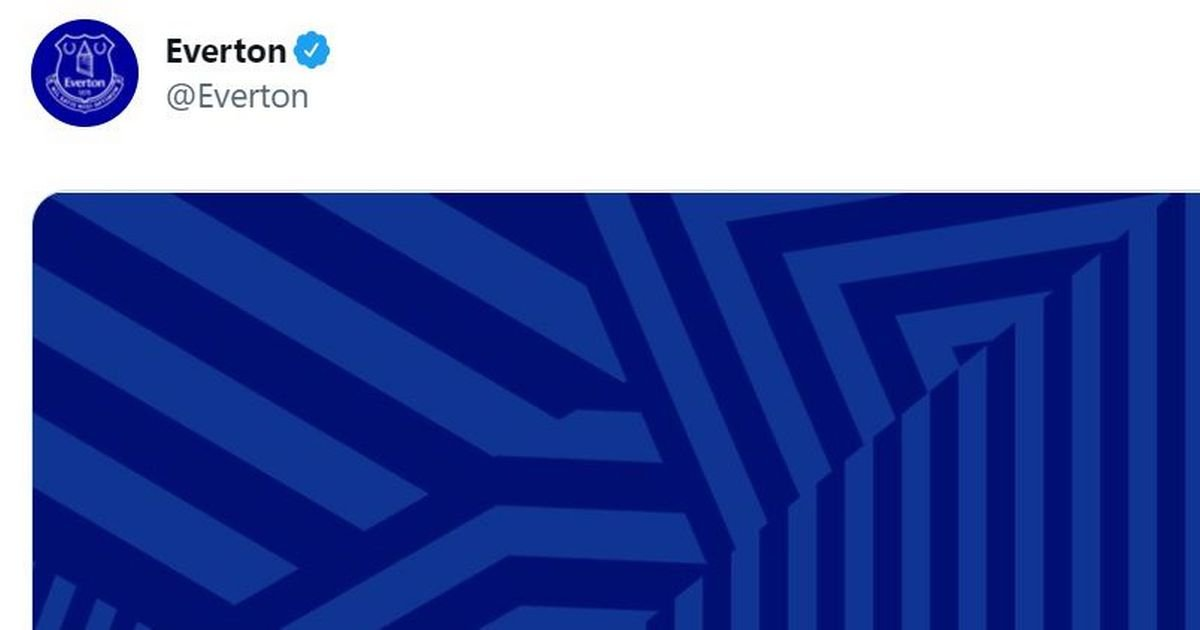 Everton launches the teaser image while fans speculate about the 2021/22 home set