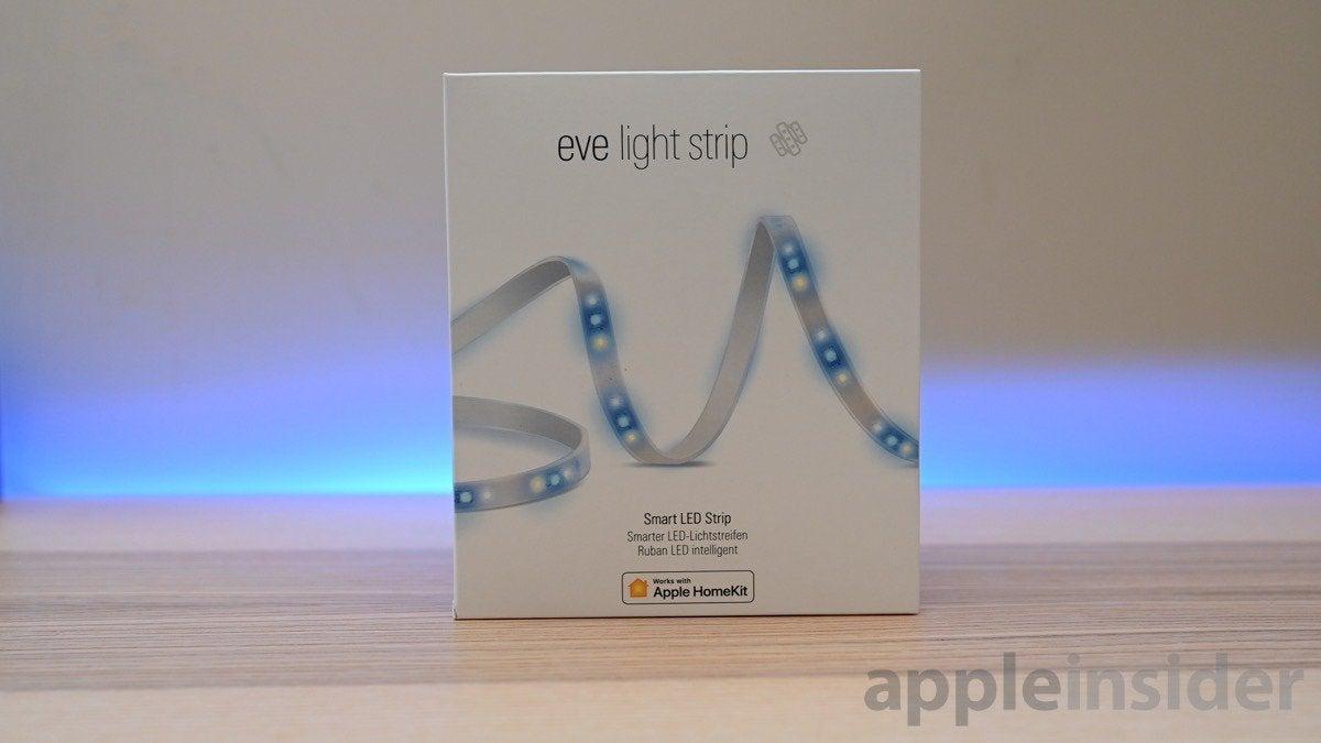 Eve's first public adaptive lighting fixture (software update)