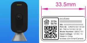 FCC listing reveals HomeKit support to arrive w/ Ecobee camera