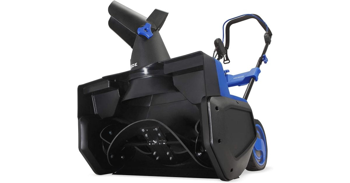 Green: Snow Joe 21-inch electric snow thrower $ 140 more