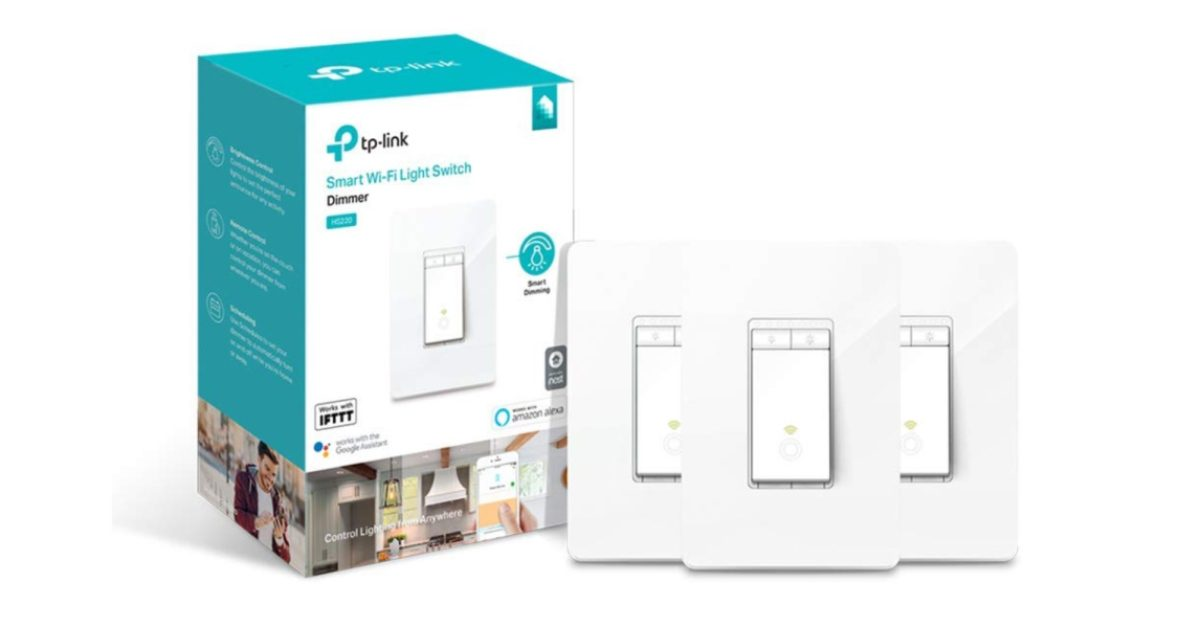 Green offers: pack of 3 TP-Link Wi-Fi smart switches for 55 USD, more
