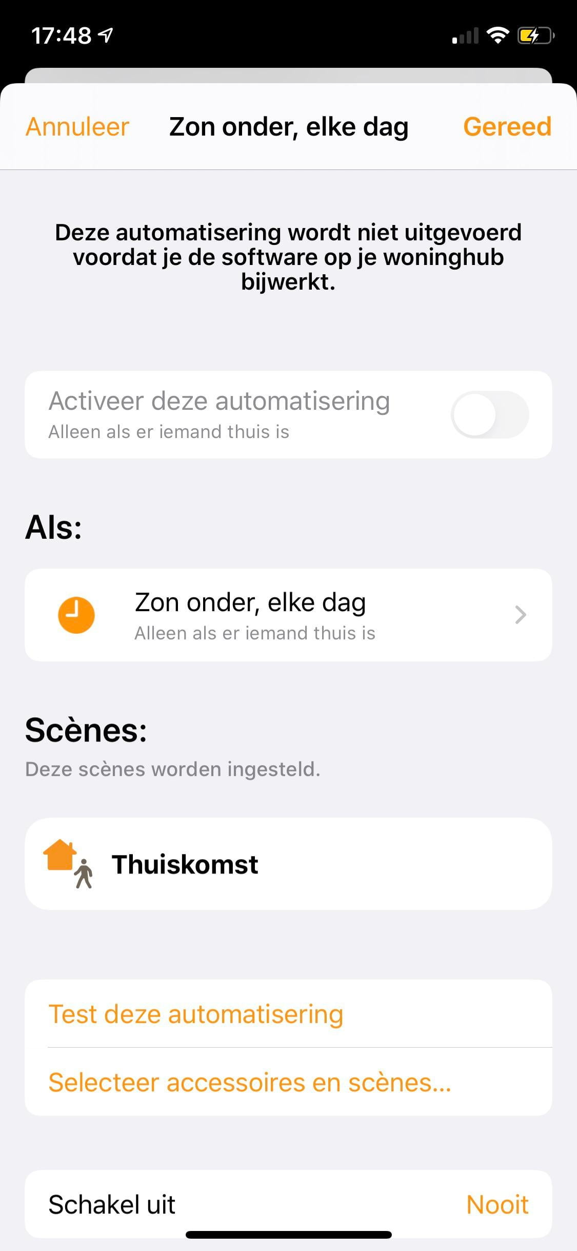 Help HomeKit bugg ... in translation it says that this