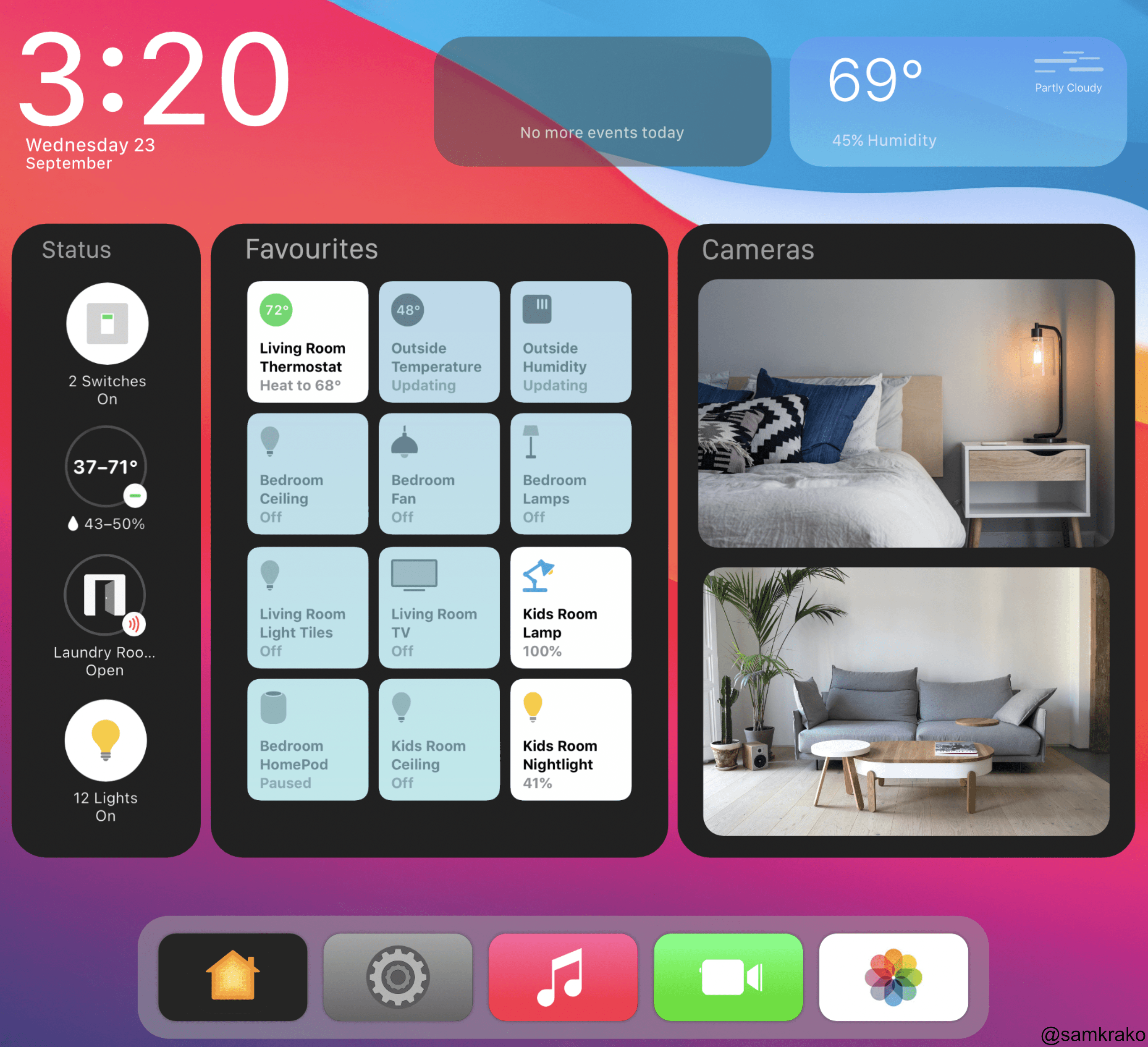 Heres my quick v3 attack on an Apple HomePod Display