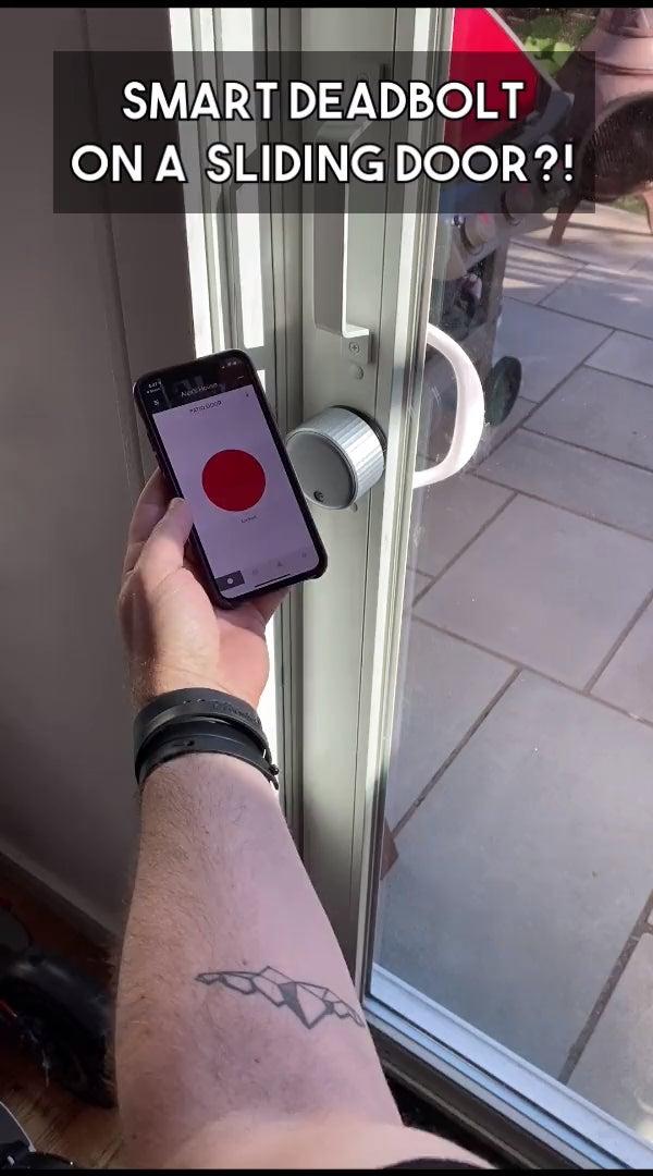 HomeKit Smart Sliding Door Lock (August Smart Lock DIY Upgrade)