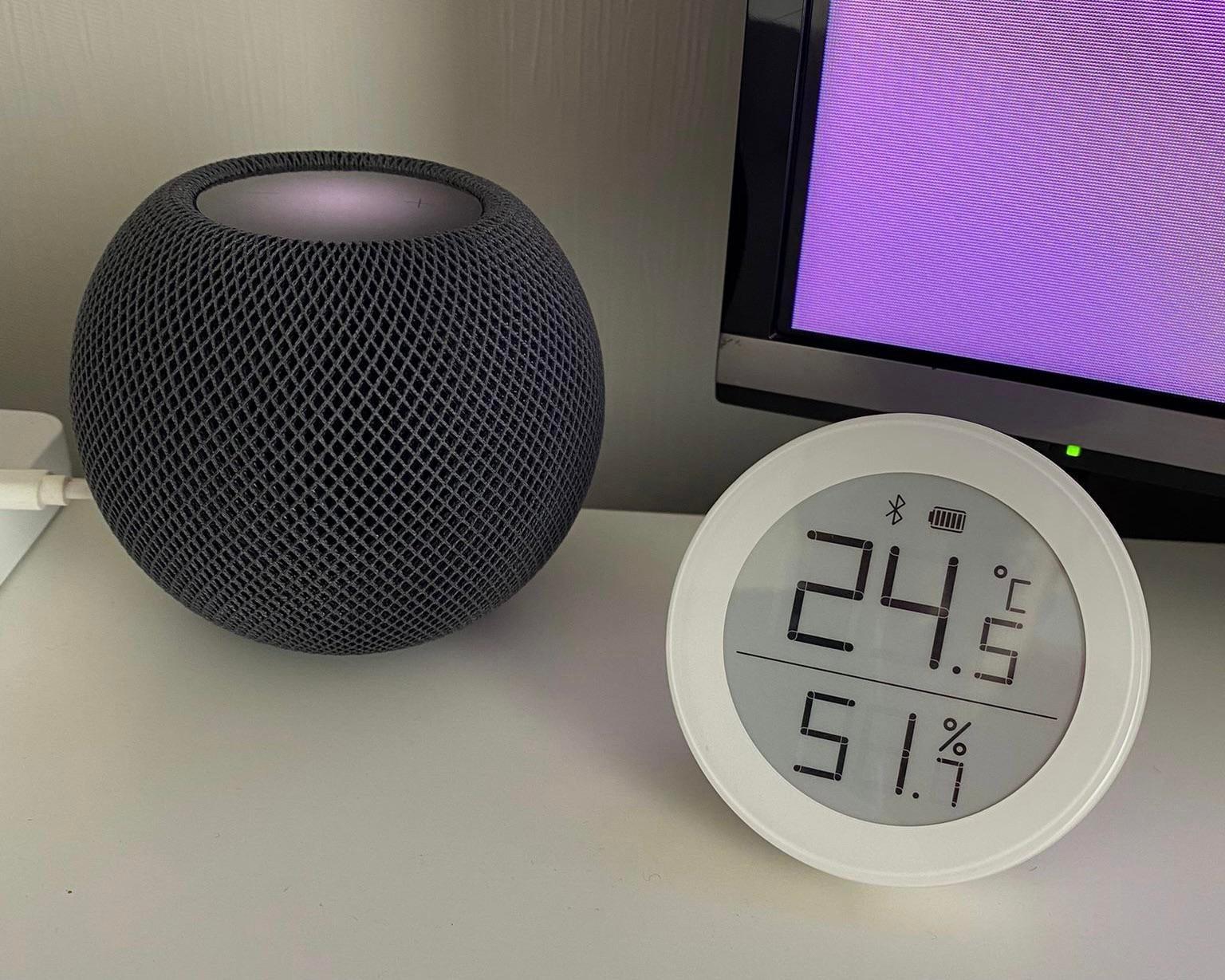 HomeKit thermometer humidity sensor
