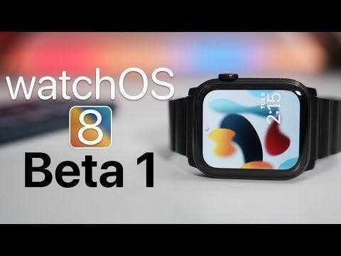 HomekitOS 8 Beta 1 Watch