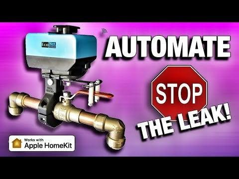 How to expose a shut-off valve to HOMEKIT?