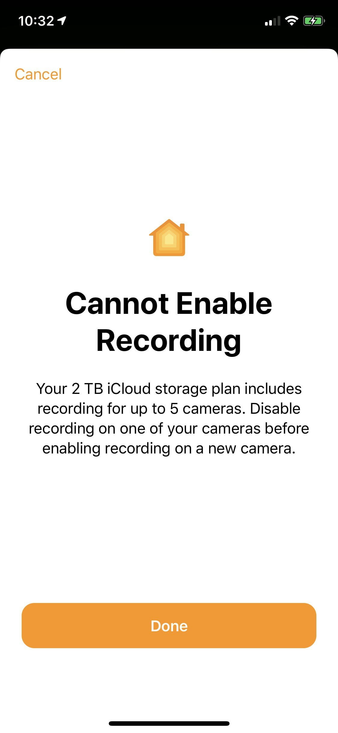 How to remove cameras from HKSV that are not included