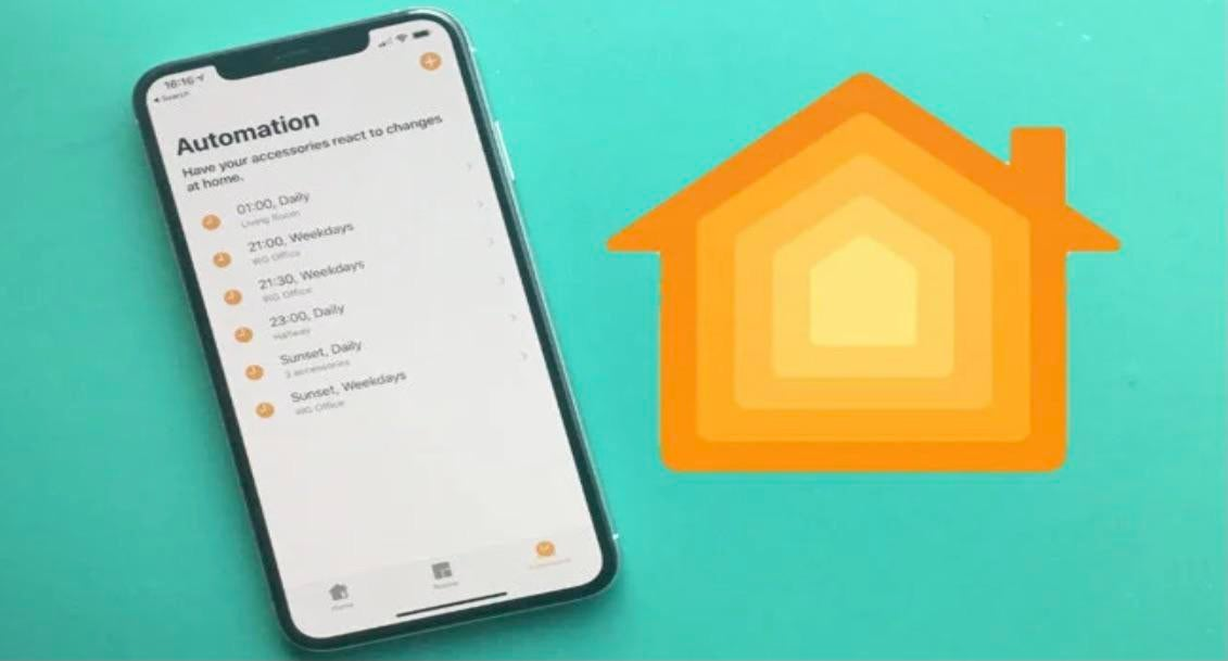 How to set a stopwatch in Homekit