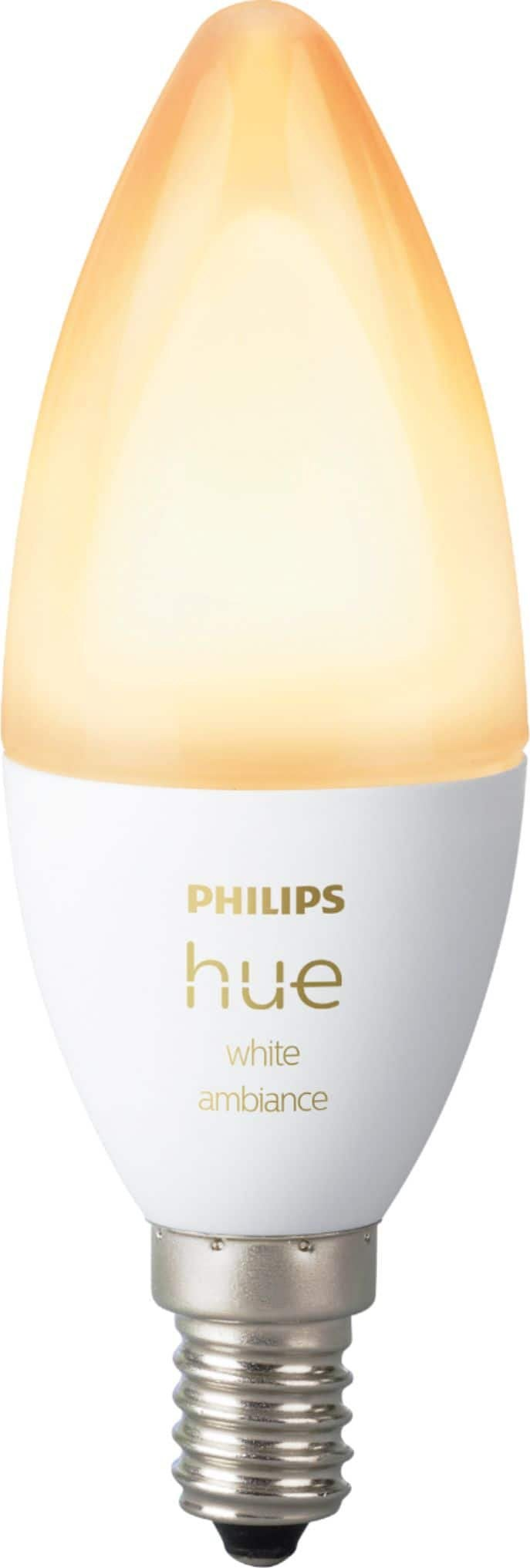 Hue candle bulbs white ambiance 15 at Best Buy